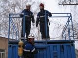 "Занятия группы спасателей на УТК ""Грот"""